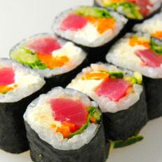 Norimaki atún (8 unidades)