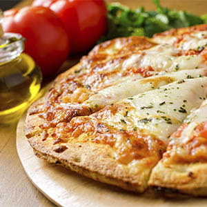 Pizzeta con muzzarella familiar (30 cm aprox)