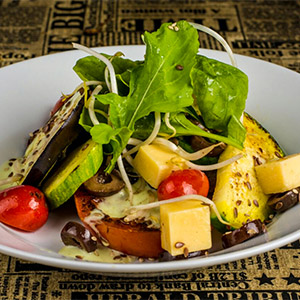 Ensalada templada de verduras