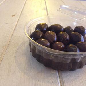 Aceitunas negras maceradas 200 grs