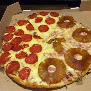 18 - Pizzeta mitad y mitad