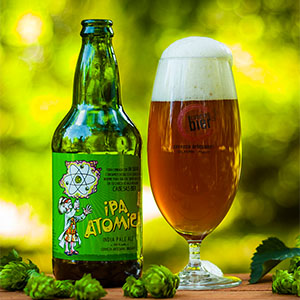 Cerveza Atomic India Pale Ale 500 ml