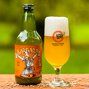 Cerveza Barbara de trigo 500 ml