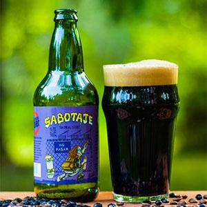 Cerveza negra Sabotaje Oatmeal Stout 500 ml