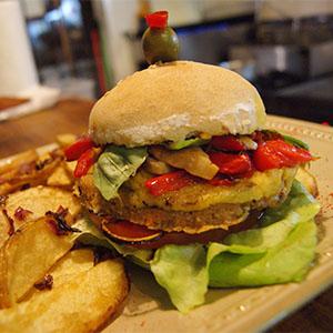 Ahimsa Vegan Burger