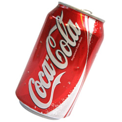 Refresco linea Coca Cola en lata