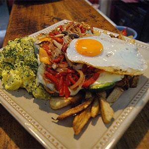 Milanesa Vegetariana Americana al pan casero