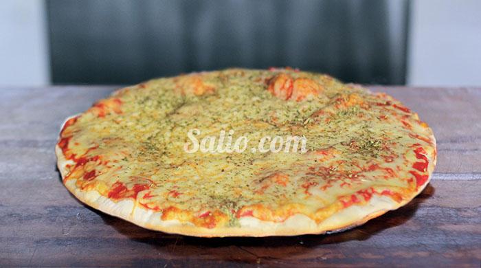 Pizzeta Margarita + papas o 2 faina de regalo!