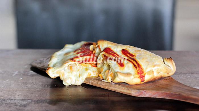 Calzone fondue de quesos