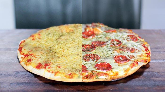 Pizzeta Margarita + 1 gusto