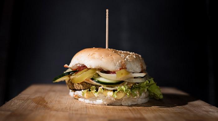 Hamburguesa Rocky vegetariana