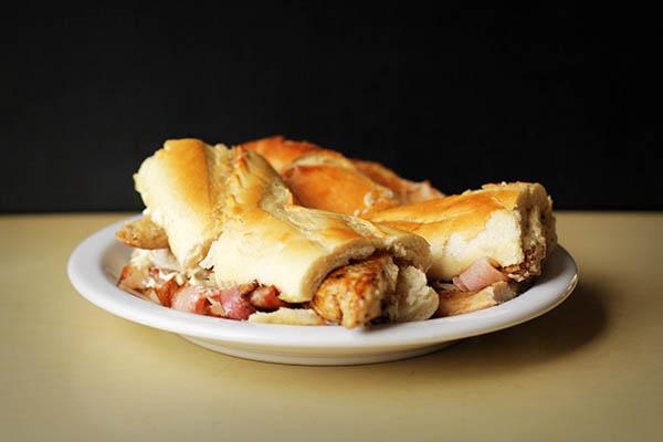 Baguette de pollo