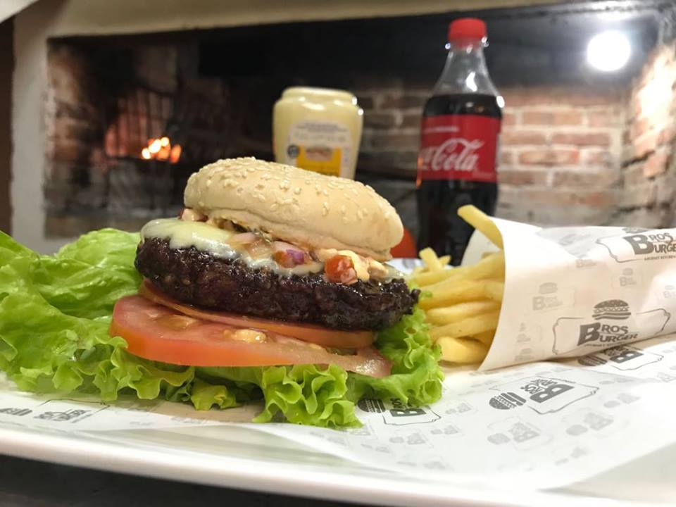 Burger Grandfather con guarnicion