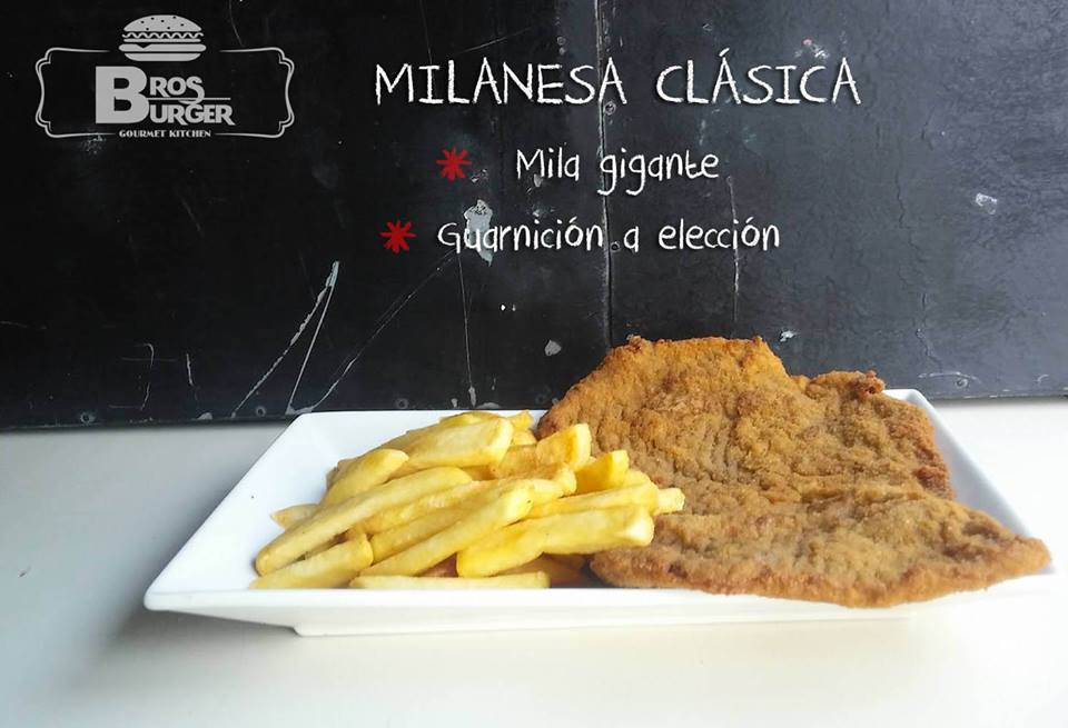 Milanesa con sweet con guarnicion
