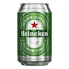 Cerveza Heineken lata