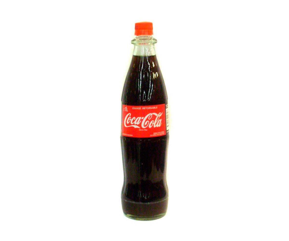Gaseosa línea Coca Cola 1 L