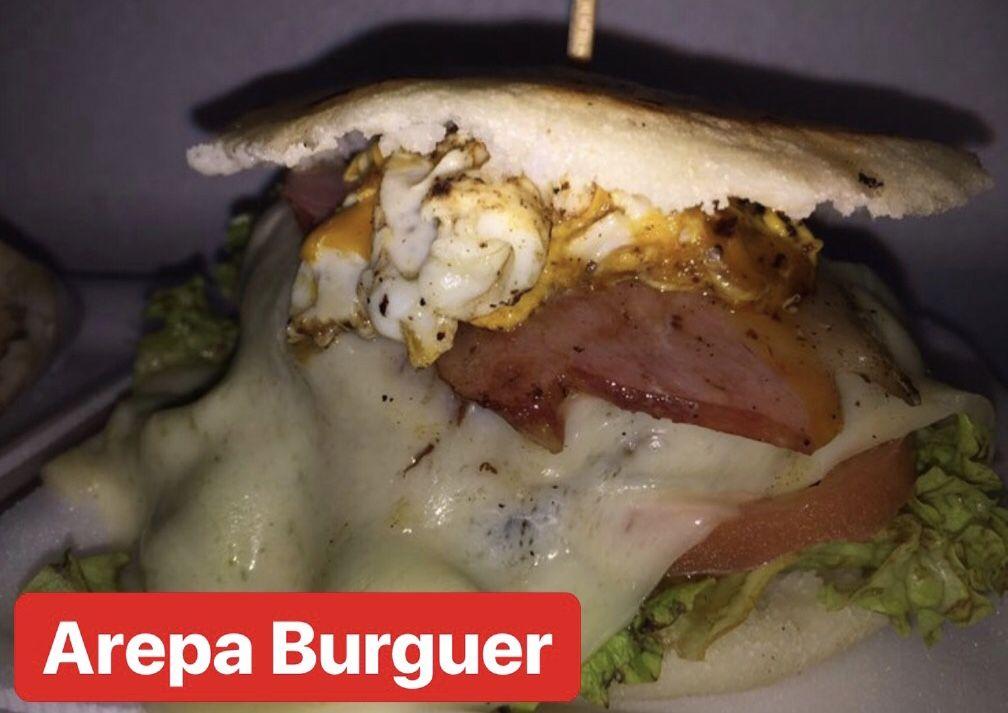 Arepa Burguer gluten free