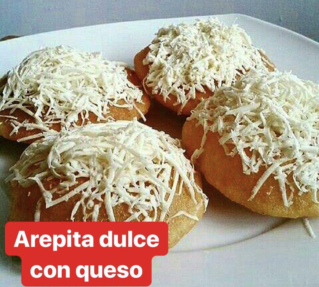 Arepita dulce venezolana
