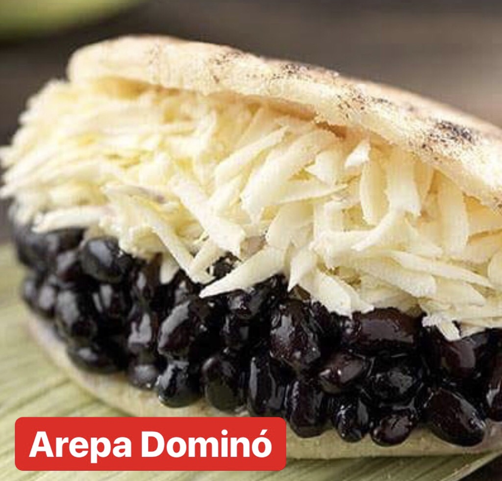 Arepa domino (sin TACC)