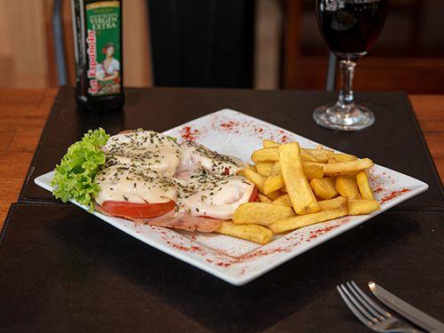Suprema de pollo a la italiana