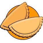 Empanada de queso, albahaca y nuez