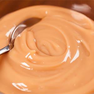 Mousse de dulce de leche