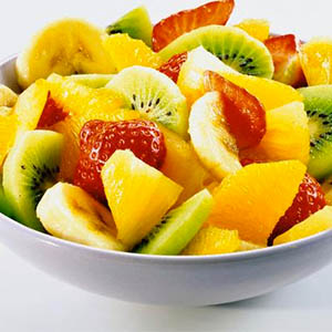 Ensalada de frutas light