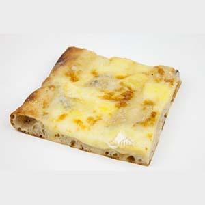 Pizzeta con salsa y muzzarella