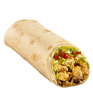 Burrito aguacate