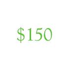 Vale por $150