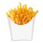 -Canje- Porción de papas fritas