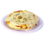 -Canje- Pizzeta con muzzarella